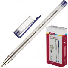 Ручка шариковая неавтоматическая Attache Antibacterial синяя (толщина линии 0.5 мм)