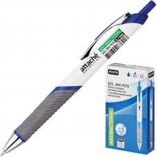 Ручка гелевая автоматическая Attache Selection с антибактериальной манжеткой синяя (толщина линии 0.7 мм)