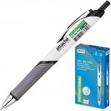 Ручка гелевая с антибактериальной манжетой Attache Selection черная (толщина линии 0.7 мм)